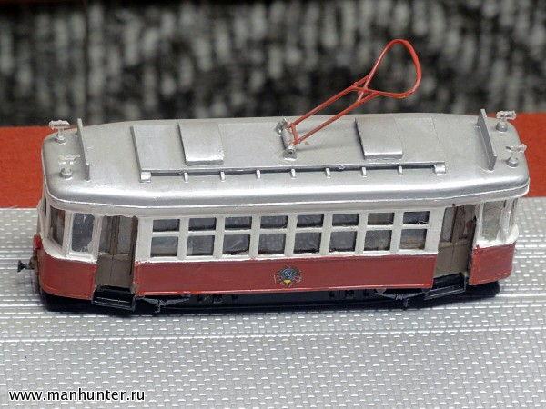 Макет трамвая