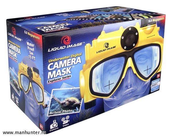 Driver Underwater Digital Camera Mask Liquid Image