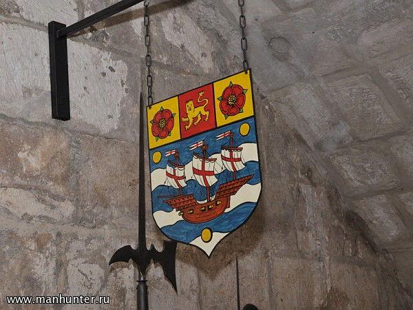 герб перевод на английский
