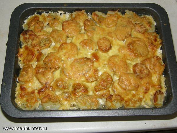 индейка с картофелем в духовке рецепт с фото