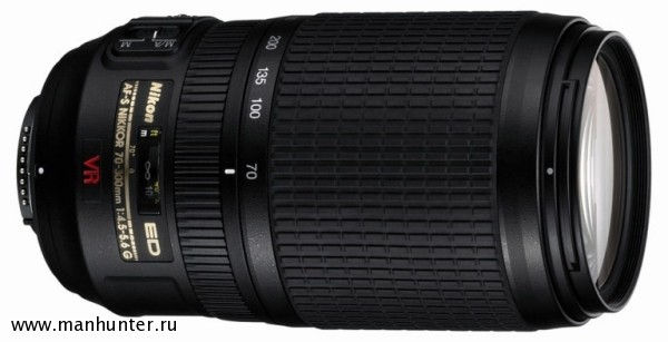 Объектив AF-S VR ZOOM-NIKKOR 70-300MM F/4.5-5.6G IF-ED