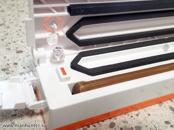 Уплотнительная лента и нагревательная спираль