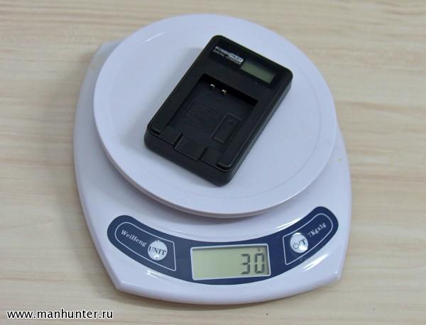 Вес зарядного устройства